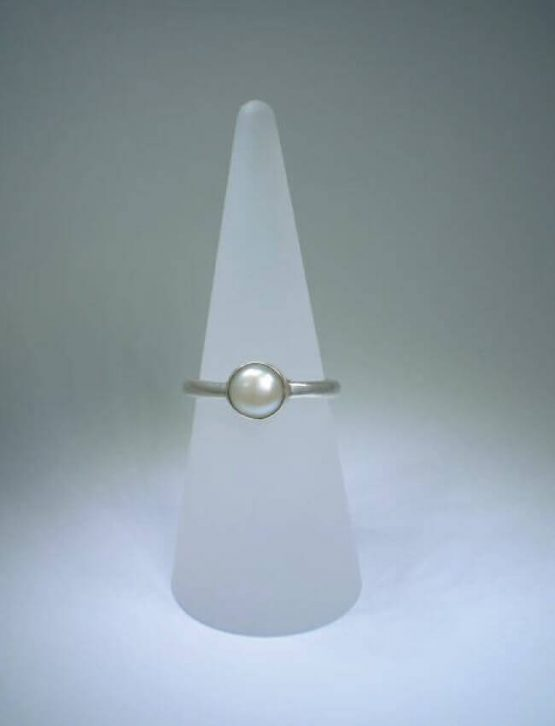 Ivory Freshwater Pearl Ring